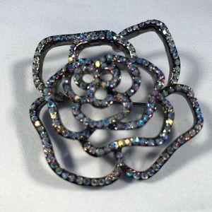 3for $20 Bling Rose Brooch